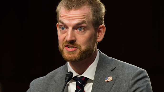 Dr. Kent Brantly.(AFP Photo / Jim Watson )