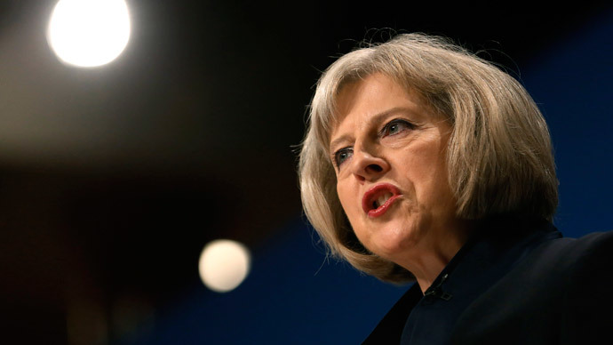 Britain's Home Secretary, Theresa May.(Reuters / Luke MacGregor )