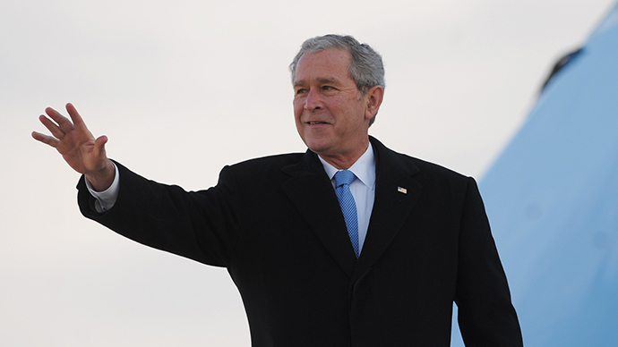 George W. Bush (AFP Photo / Mandel Ngan)