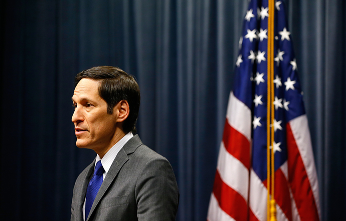 Director of Centers for Disease Control and Prevention Tom Frieden (Kevin C. Cox / Getty Images / AFP)