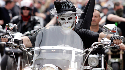 ​German bikers unite with Dutch comrades in fight against ISIS