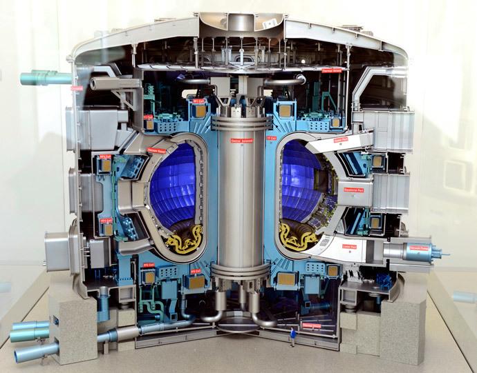 International Thermonuclear Experimental Reactor.(AFP Photo / Gerard Julien)