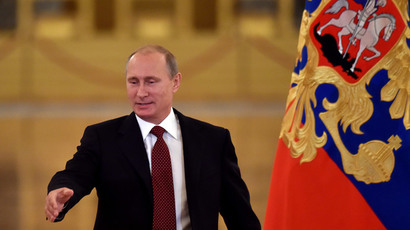Putin's rating falls below 50 percent in September - poll