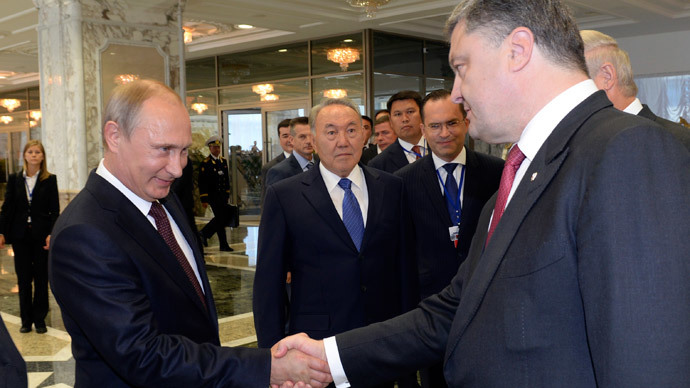 'High expectations': Putin, Poroshenko to talk gas, Ukraine crisis in Italy