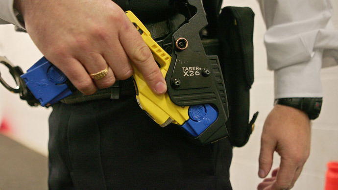 Shocking: Huge rise in UK police use of Tasers