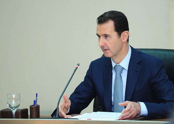 Syria's President Bashar al-Assad (Reuters / HO)