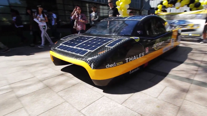 It's official: Electric car 26-year world record broken by Australian solar racing team