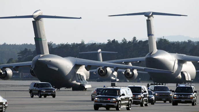 Ramstein airbase. (Reuters/Johannes)