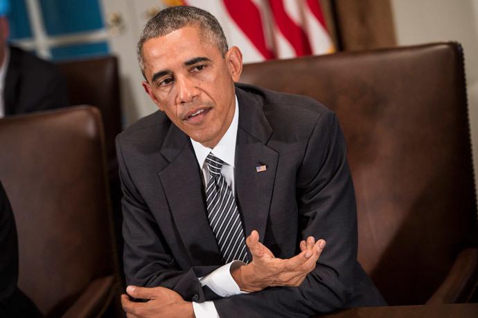 US President Barack Obama (AFP Photo / Brendan Smialowski)