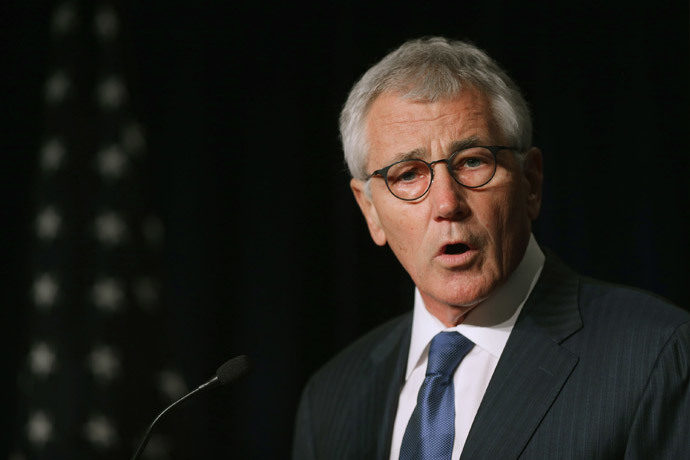 Secretary of Defense Chuck Hagel (Chip Somodevilla / Getty Images / AFP)