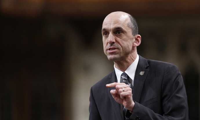 Canada's Public Safety Minister Steven Blaney. (Reuters/Chris Wattie)