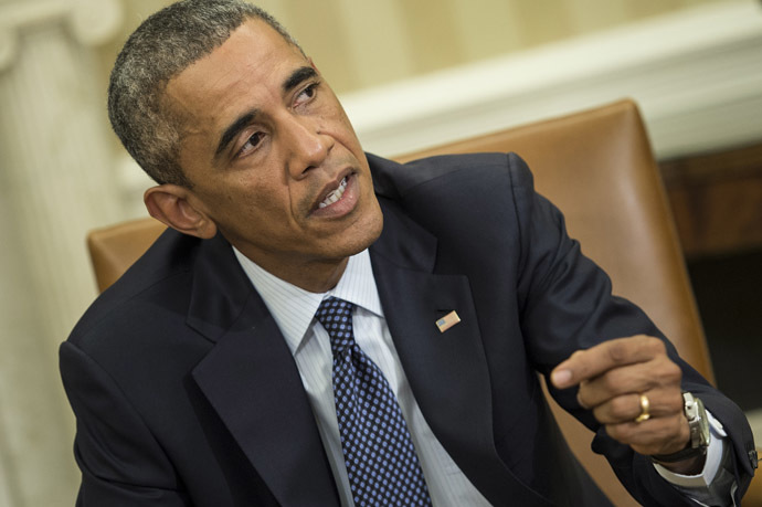 US President Barack Obama. (AFP Photo/Brendan Smialowski)