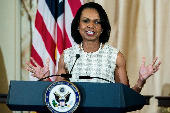 Former U.S. Secretary of State Condoleezza Rice. (AFP Photo/T.J. Kirkpatrick)