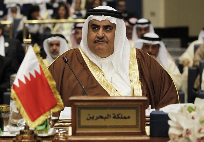 Bahraini Foreign Minister Sheikh Khalid bin Ahmed al Khalifa. (Reuters/Hamad I Mohammed)