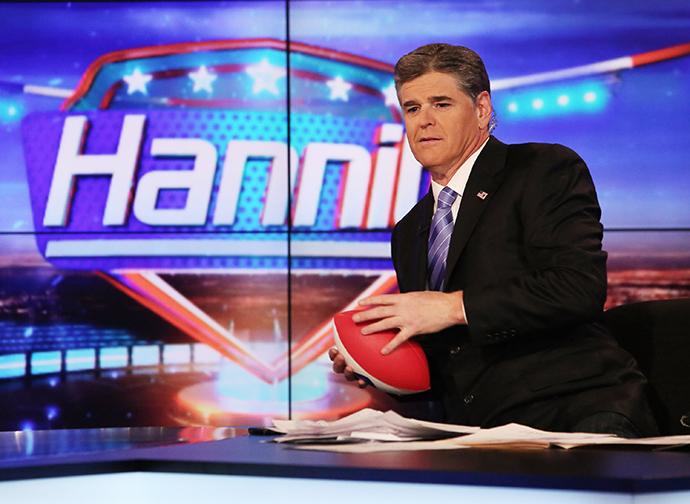 Host Sean Hannity (AFP Photo / Paul Zimmerman)