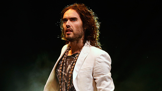 Russell Brand kicked out of Fox News HQ after canceled Sean Hannity appearance (VIDEO)