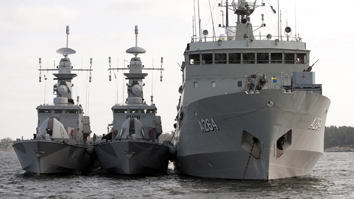 ​Sweden deploys troops near Stockholm due to alleged underwater threat