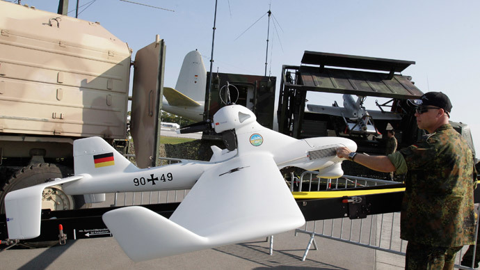 Cold Ukrainian winter threatens German OSCE drone mission