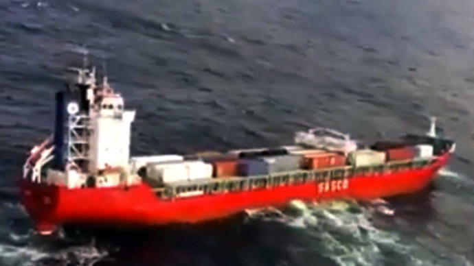 Emergency: Russian cargo ship with 450 tons of fuel adrift off Canada coast (VIDEO)
