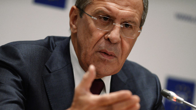 Lavrov: Russia never questioned Ukraine's right for partnership with EU