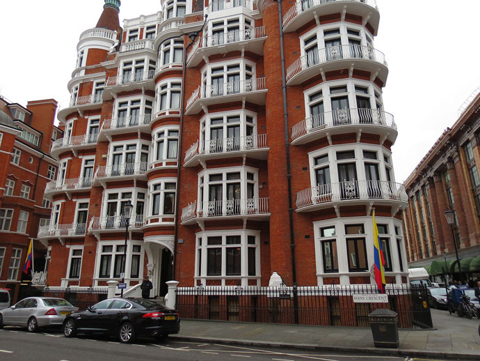Embassy of Ecuador in London. (Image from wikipedia.org)