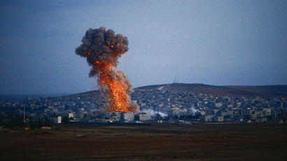 US sends lethal aid to Kurdish forces fighting ISIS in Kobani
