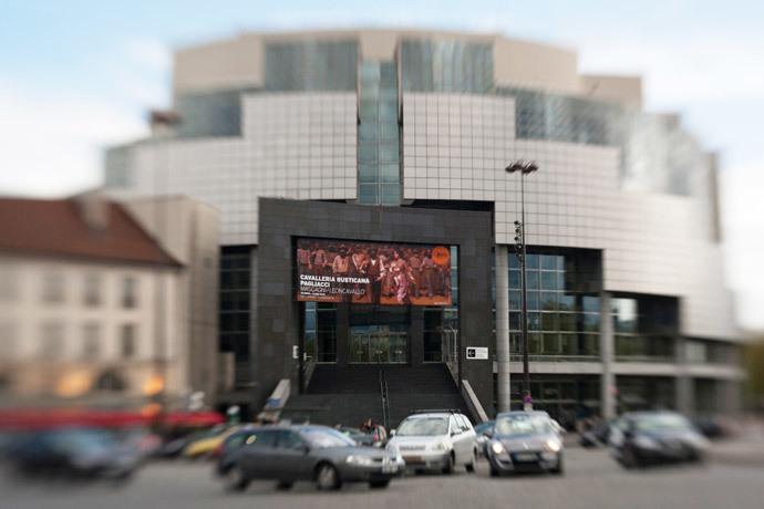 Bastille opera house in Paris. (AFP Photo / Loic Venance)