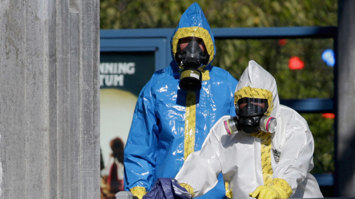 ​Ebola hysteria soars to new heights in US schools