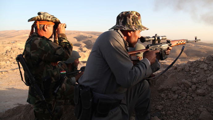 Turkey to allow Iraqi Kurds to join battle against ISIS in Kobani