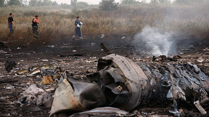 Shocking amateur footage shows MH17 crash aftermath (VIDEO)