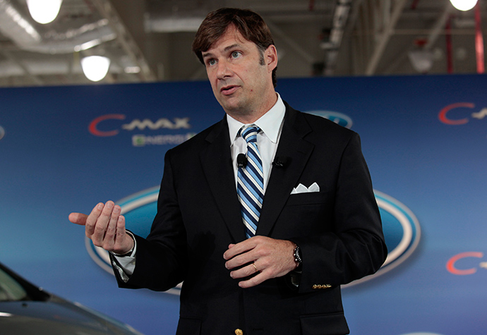 Ford Motor Co. Group Vice-President Marketing and Sales Jim Farley (Reuters / Rebecca Cook)