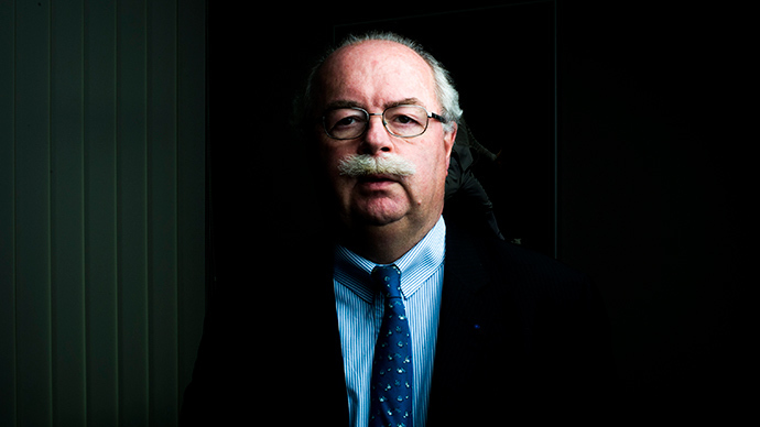 Chief executive officer of the French oil group Total, Christophe de Margerie (AFP Photo / Files)