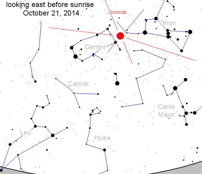 Orionids Meteor Shower Lights the Night Sky – 10-21-14 1