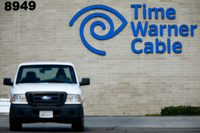 A Time Warner Cable office is pictured in San Diego, California (Reuters / Mike Blake)