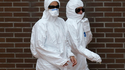 'No skin exposure': US tightens guidance for Ebola protective gear