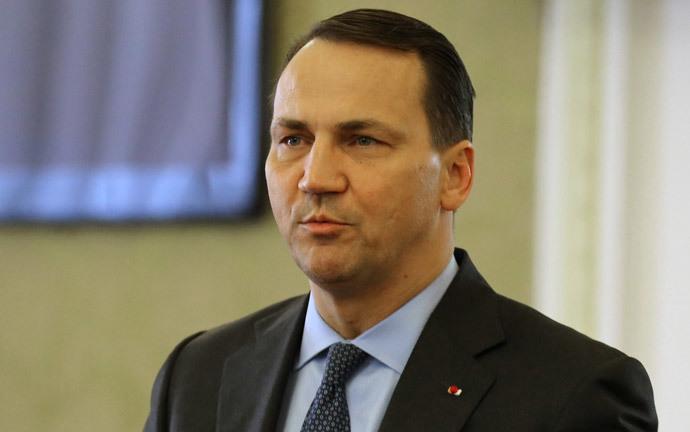 Polish Foreign Minister Radosław Sikorski (AFP Photo / Atta Kenare)