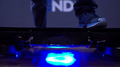 #1 skateboarder Tony Hawk test-rides first real hoverboard (VIDEO)