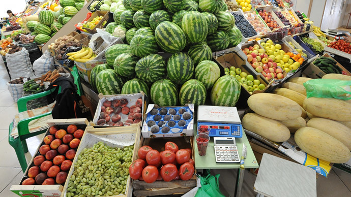 Russia limits fruit and vegetables from Ukraine over EU re-export fear