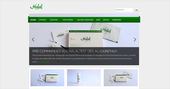 Screenshot from http://halaltest.fr/