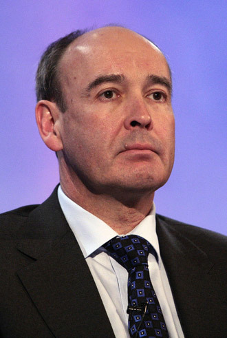 John Ramsay, Chief Financial Officer, of Swiss agrochemicals group Syngenta (AFP Photo / Shaun Curry)
