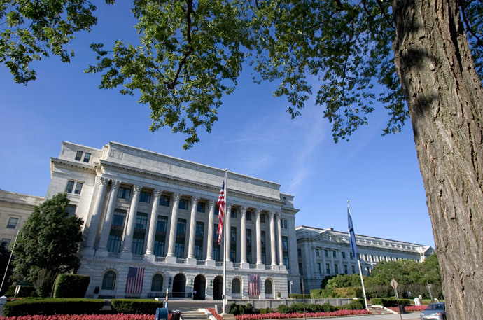 The US Department of Agriculture building (AFP Photo / Saul Loeb)
