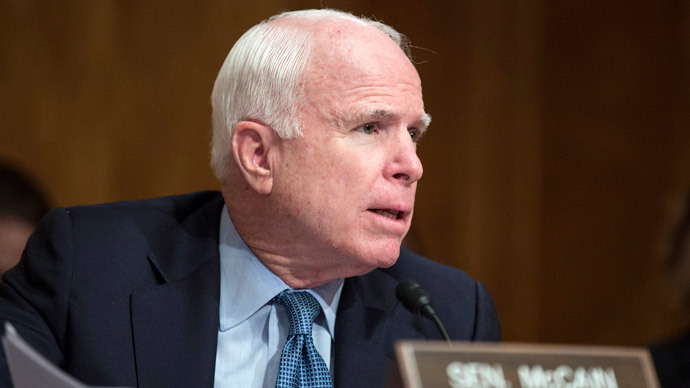 McCain insists on sending US ground troops to Syria, Iraq