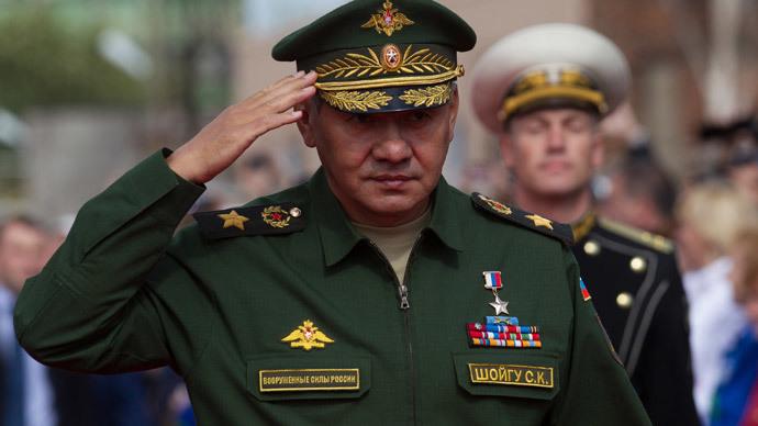 Russian Defense Minister Sergey Shoigu.(RIA Novosti / Igor Russak)