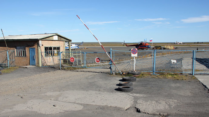 Airport in village of Tiksi in Sakha-Yakutia.(RIA Novosti / Valeriy Yarmolenko)