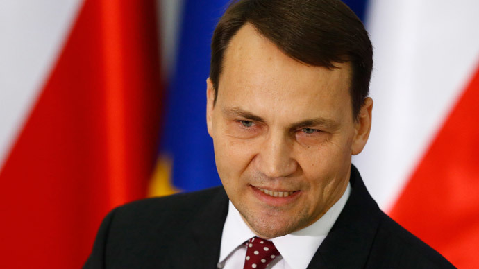 Sikorski U-turn: Polish ex-FM backtracks on scandalous 'divide Ukraine' claim