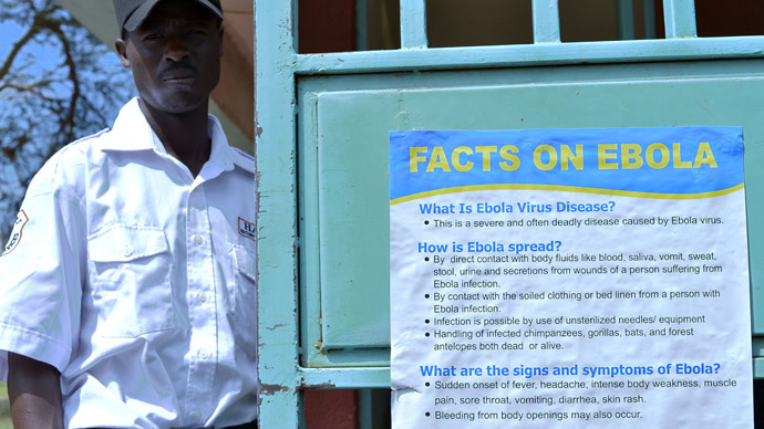 Rwanda urges daily screenings for visitors from 'Ebola-hit' USA and Spain