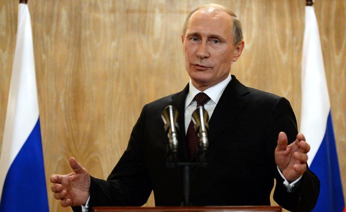 Russian President Vladimir Putin. (AFP Photo/Vasily Maximov)