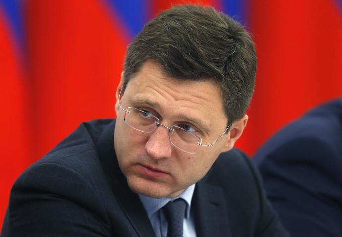 Russian Energy Minister Alexander Novak. (AFP Photo/Dmitry Astakhov)