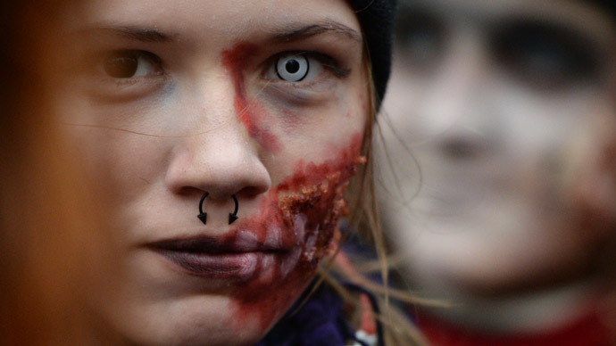 Activists say no to horror Halloween in Russia