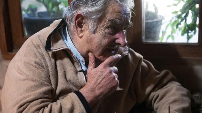 Uruguayan President Jose Mujica.(AFP Photo / Daniel Caselli)